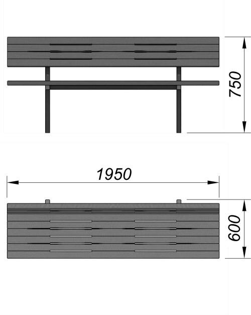 1608 Уличный диван, фото №2