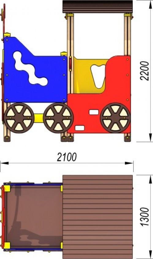 4402 Паровозик Тип 2, фото №2