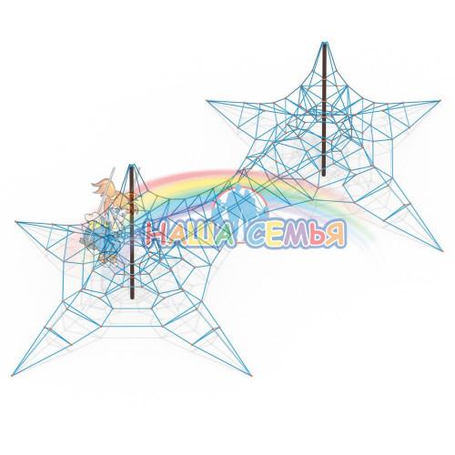 Пирамида канатная Тип 3