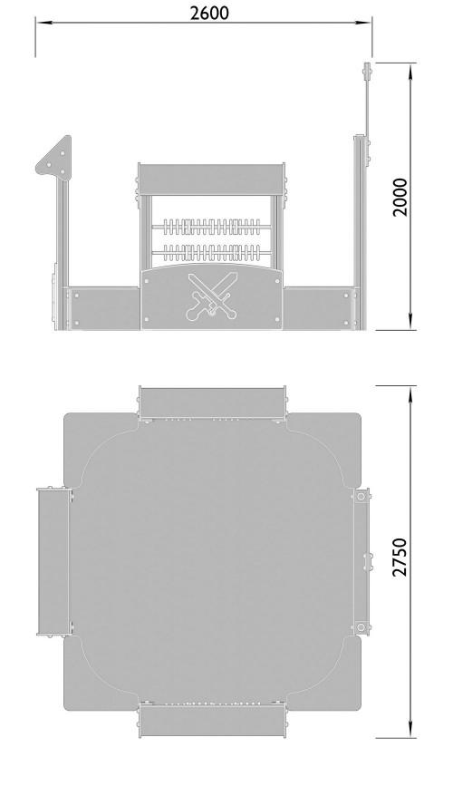 1520-3 Песочный дворик Тип 1, фото №2