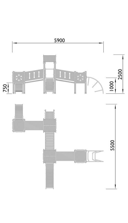 2110-1 Комплекс детский, фото №2