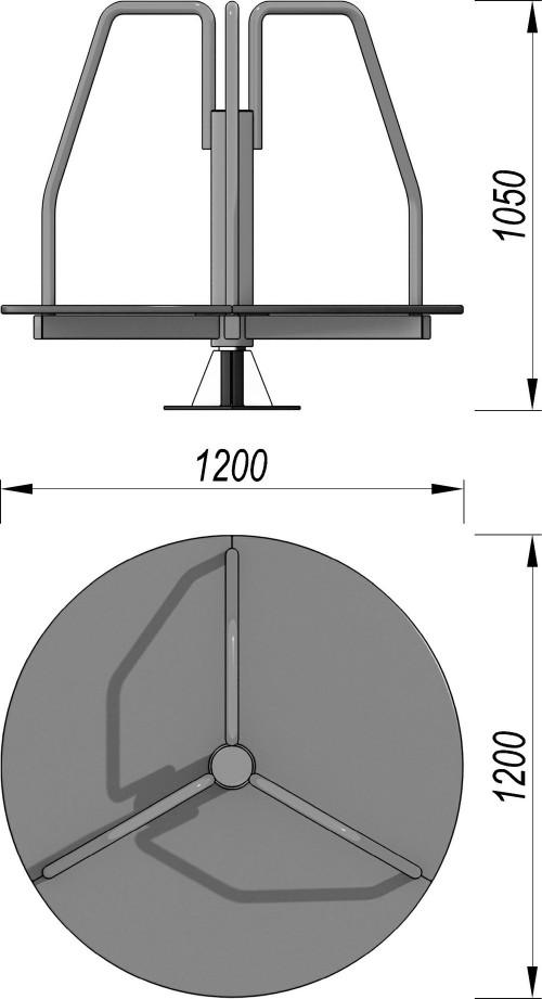 1304 Карусель Тип 1, фото №2