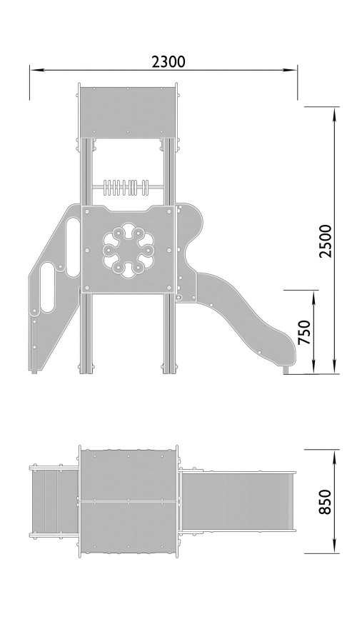 2000-1 Комплекс детский, фото №2