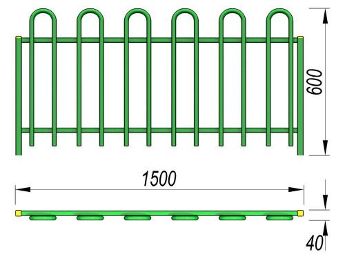 5002 Ограждение Тип 3, фото №2