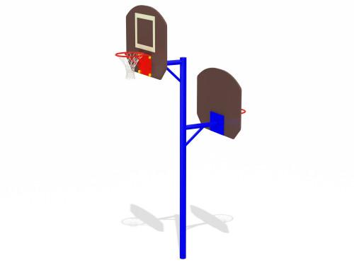 Баскетбольный щит двойной