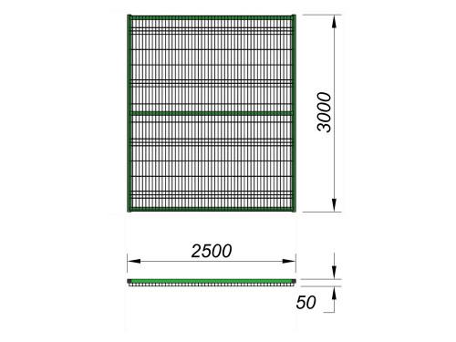 5103 Ограждение (2 500 х 3 000), фото №2