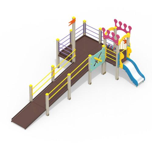 Детский игровой комплекс для детей с ограниченными возможностями Корона