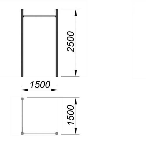 3704 Турник Тип 4, фото №2