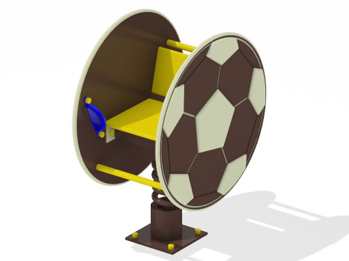 Качалка на пружине Мяч