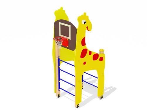 4704 Жираф с баскетбольным щитом, фото №1