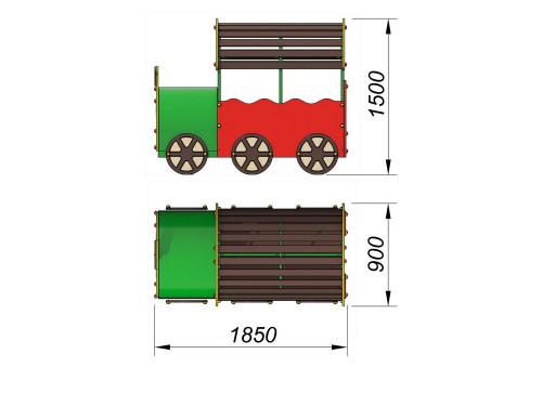 4401 Паровозик Тип 1, фото №2