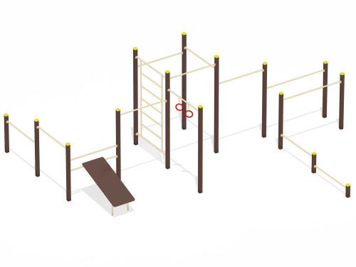 Спортивный комплекс для воркаут Тип 6