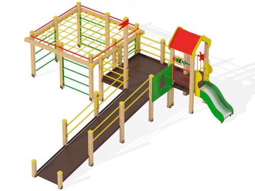 Детский игровой комплекс для детей с ограниченными возможностями