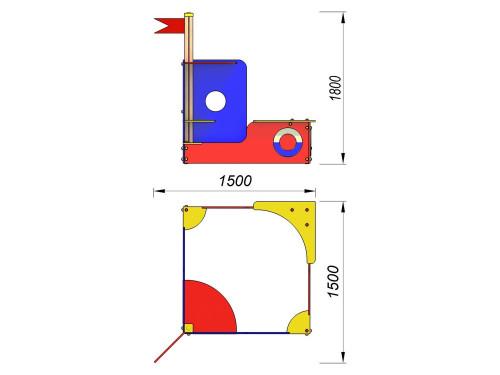 1508 Песочница Катерок, фото №2
