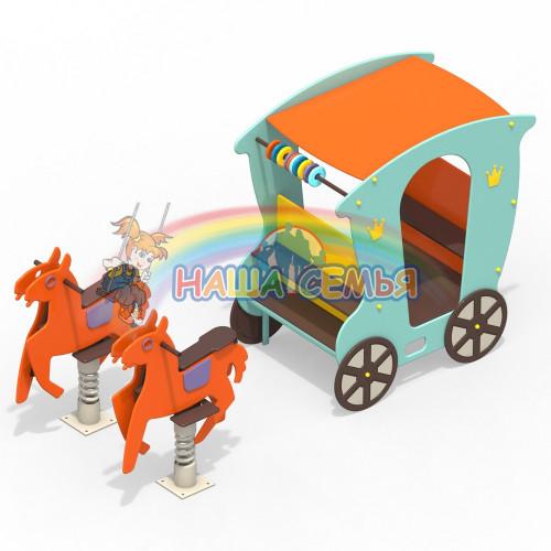 Карета с лошадками