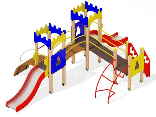 2071 Комплекс детский Крепость, фото №1