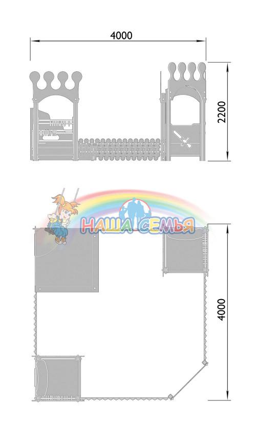1521-3 Песочный дворик Тип 2, фото №2