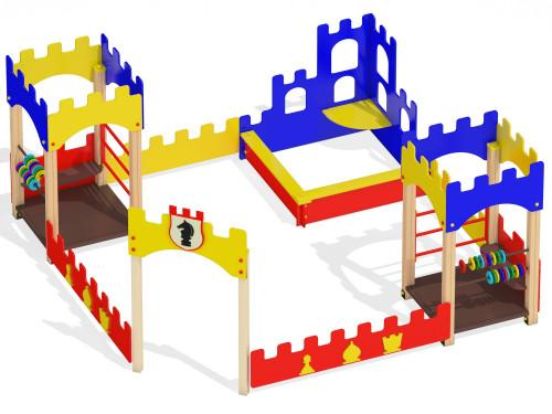 Песочный дворик Крепость