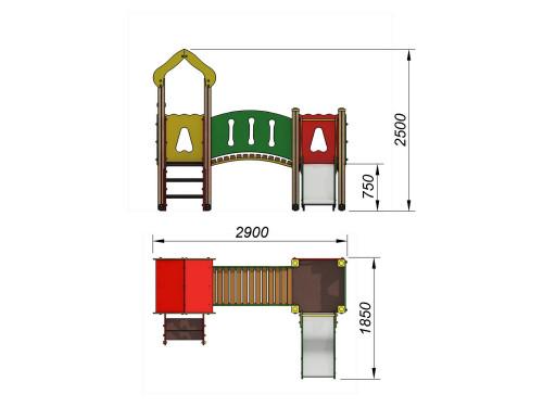 2030 Комплекс детский, фото №2