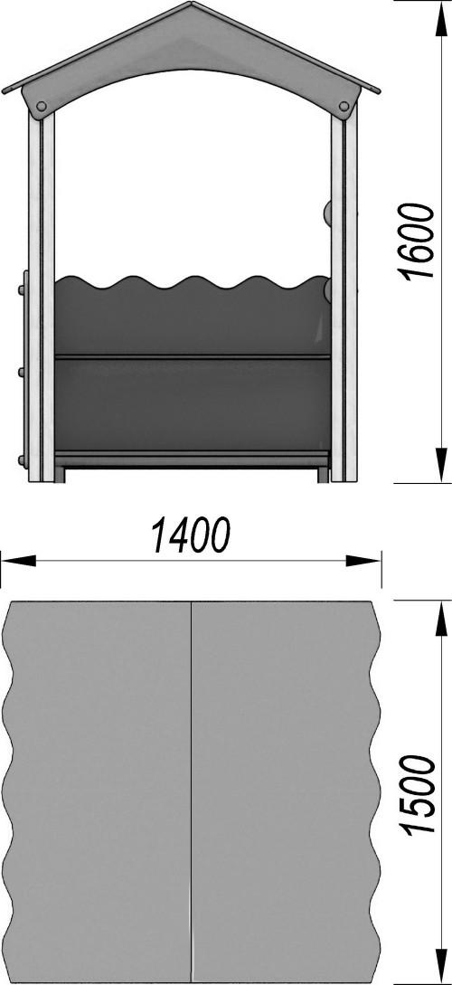 4102 Домик Тип 2, фото №2