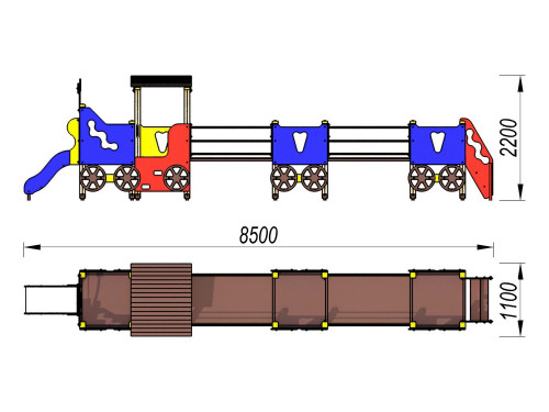 4405 Паровозик Тип 5, фото №2