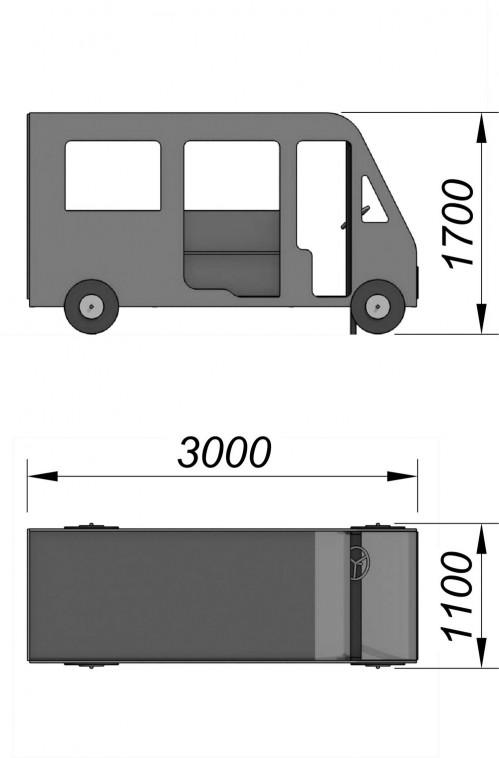 4300-1 Автобус, фото №2