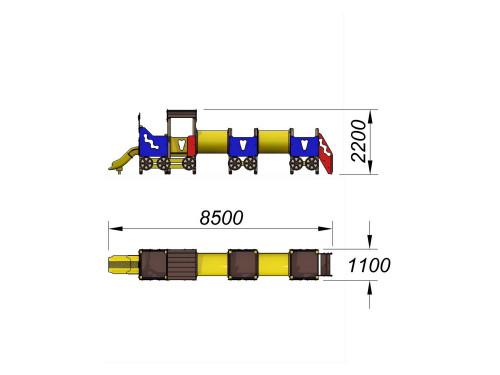 4407 Паровозик Тип 7, фото №2