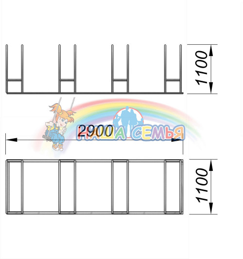 6002 Велопарковка Тип 2, фото №2
