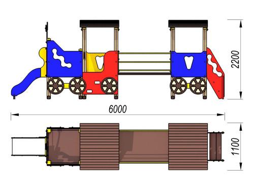 4404 Паровозик Тип 4, фото №2
