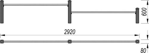 3708 Каскад турников Тип 1, фото №2