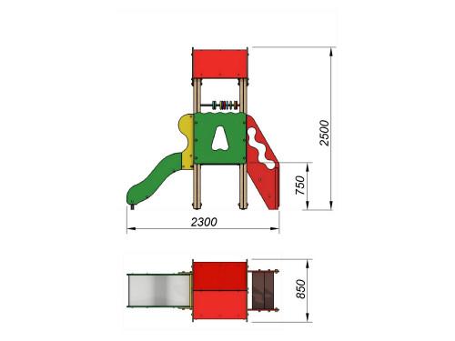2000 Комплекс детский, фото №2