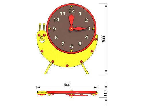 4702 Игровая панель Часы, фото №2