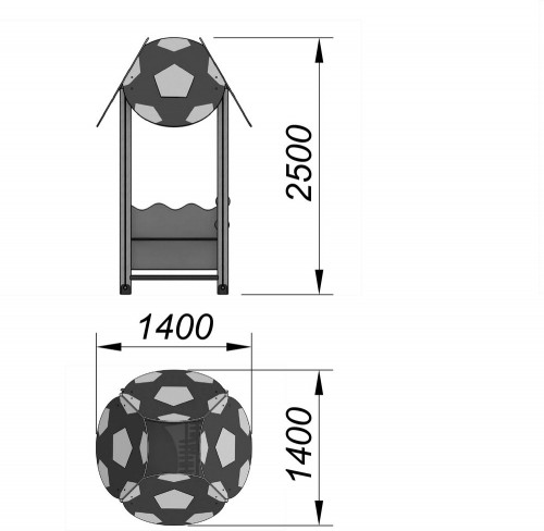 4104-2 Домик Тип 5, фото №2
