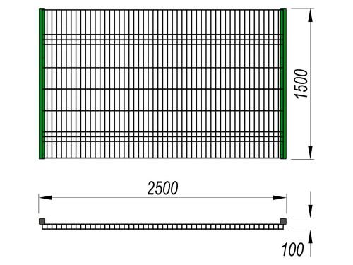 5101 Ограждение (2 500 х 1 500), фото №2