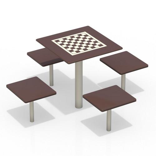 3516 Шахматный стол, фото №1