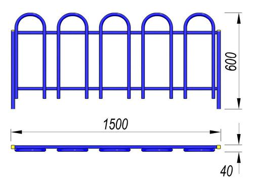 5003 Ограждение Тип 4, фото №2