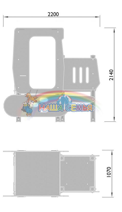 4501-3 Трактор, фото №2