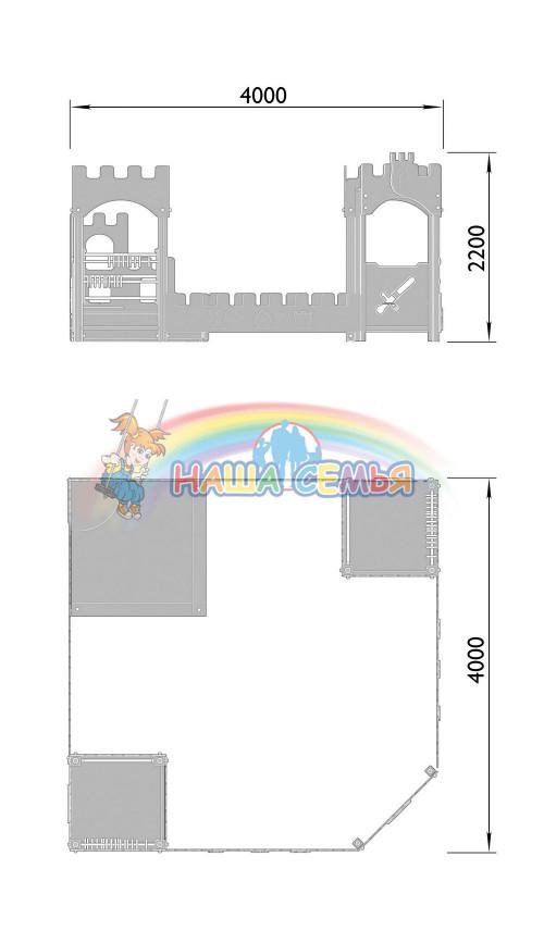 1521-2 Песочный дворик Тип 2, фото №2