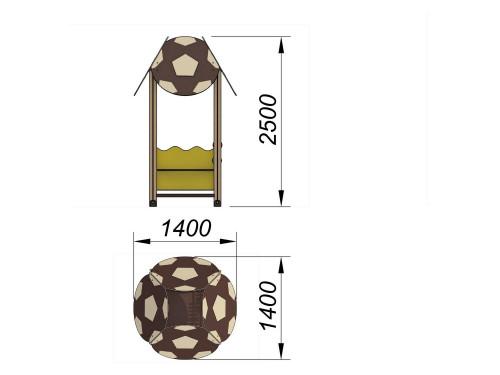 4105 Домик Тип 5, фото №2