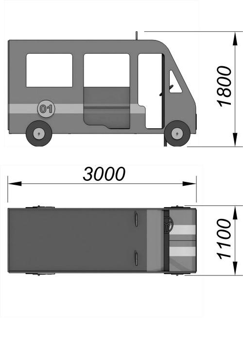 4300-2 Пожарная машина, фото №2