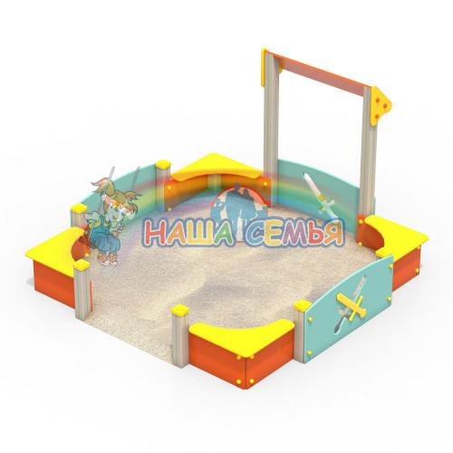 Песочный дворик Тип 1