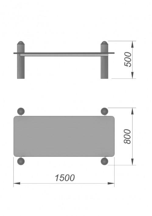3750 Скамья для преса СХ-01, фото №2