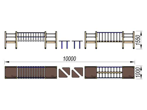 3115 Спортивный комплекс Тип 15, фото №2