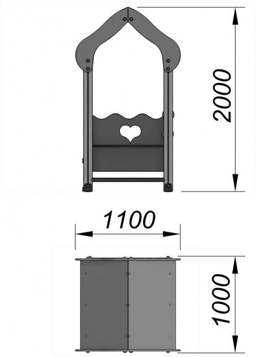 4104-1 Домик Тип 4, фото №2