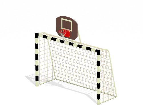 Ворота с баскетбольным щитом