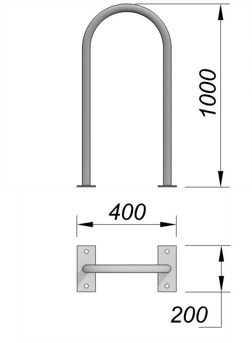 6001 Велопарковка Тип 1, фото №2